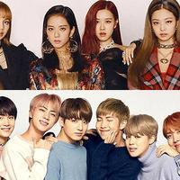 Sama-sama comeback di bulan April, lebih keren BLACKPINK atau BTS? (sbs.com)