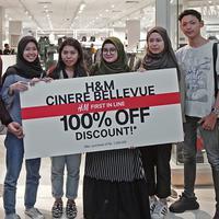 H&M Cinere Bellevue Mall resmi Dibuka (Foto: Dok. H&M)