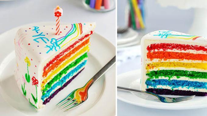 Jual Rainbow Cake Harga Terjangkau Lifestyle Fimela Com