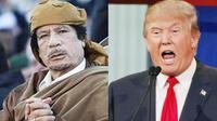 Donald Trump Mengincar Uang Moammar Khadafi, Mengapa? (Reuters)
