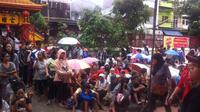 Ratusan pengemis di Petak Sembilan (Liputan6.com/ Andreas Gerry Tuwo)