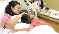 Ani Yudhoyono dan cucu, Airlangga Satriadhi Yudhoyono (dok. Instagram @ruby_26/https://www.instagram.com/p/Bt1-6vagBgU/Putu Elmira)