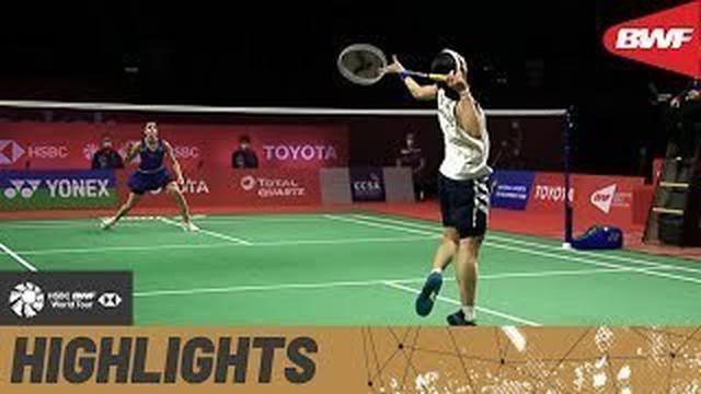 Berita video Carolina Marin terlalu perkasa dengan kembali menjadi juara di Thailand Open 2021 pada Minggu (24/1/2021).