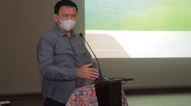 Komisaris Utama PT Pertamina (Persero) Basuki Tjahaja Purnama mengapresiasi penerapan digitalisasi di Wilayah Kerja (WK) Rokan, Riau. (Dok Pertamina)