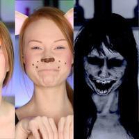 Ilustrasi makeup unik. (sumber foto: wittyfeed.com)