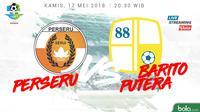 Liga 1 2018 Perseru Serui Vs Barito Putera (Bola.com/Adreanus Titus)