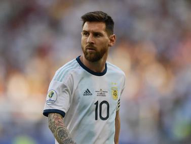 Lionel Messi Tetap jadi Momok Timnas Brasil