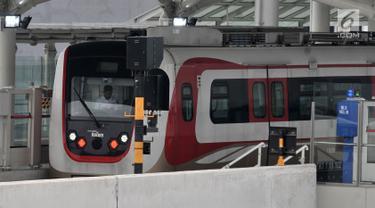 Jadwal Operasi LRT Kelapa Gading-Velodrome Molor