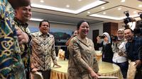 Ketua DPR Puan Maharani keliling Kompleks Parlemen, Senayan, Jakarta. (Delvira Hutabarat/Liputan6.com)
