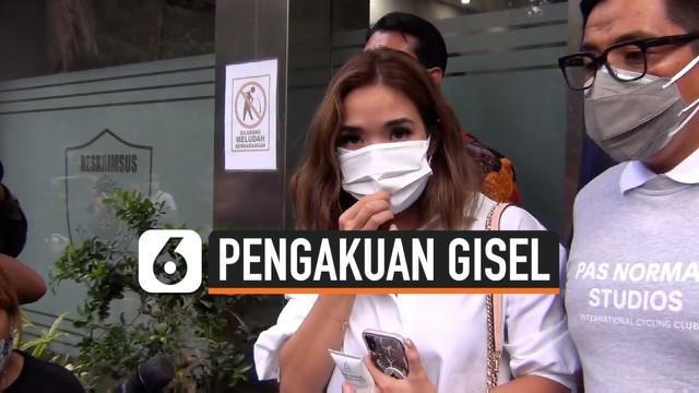 Sekitar 5 jam Gisella Anastasia atau Gisel menjalani pemeriksaan sebagai saksi di kasus video syur yang mirip dengan dirinya. Ia keluar bersama kuasa hukumnya dari gedung Diskrimsus Polda Metro Jaya Selasa sore. Apa pengakuan Gisel?