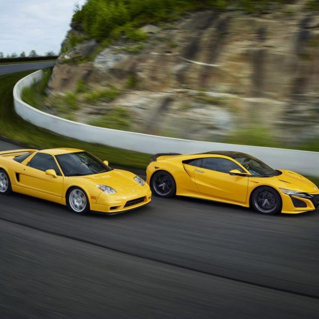 Warna Baru Acura Nsx 2020 Terinspirasi Pendahulunya Otomotif Liputan6 Com