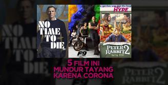 5 Film Ini Mundur Tayang karena Wabah Corona