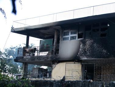 Kebakaran Panti Asuhan Haiti
