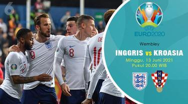 Piala Eropa Euro 2020 Inggris vs Kroasia