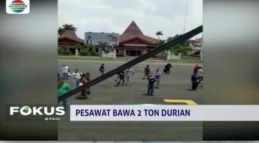 Bawa durian 2 ton, Sriwijaya Air diprotes penumpang hingga alami penundaan keberangkatan.