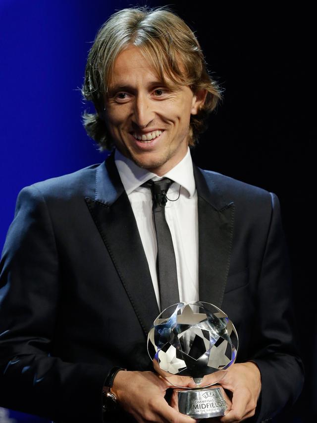 Luka Modric Raih Pemain Terbaik UEFA