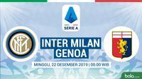 Serie A - Inter Milan Vs Genoa (Bola.com/Adreanus Titus)