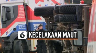 Sedikitnya 12 orang tewas dan 17 lainnya terluka usai sebuah bus rombongan siswa menabrak truk di Nitranske Hrnciarovce, Slovakia. Insiden ini menjadi kecelakaan maut lalu lintas terburuk dalam sejarah Slovakia, mengingat angka kematiannya yang cukup...