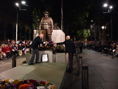 Warga Australia dan Selandia Baru Peringati Anzac Day-Jakarta-AFP-20170425