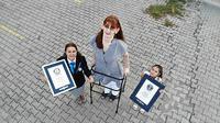 Rumeysa Gelgi, perempuan Turki yang didapuk sebagai perempuan tertinggi di dunia versi Guiness World Records. (dok. Guiness World Records)