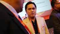 Ketua KOI (Komite Olimpiade Indonesia) terpilih Erick Tohir, Saat menghadiri kongres KOI di Gandaria, Jakarta, Sabtu (31/10/2015). (Bola.com / Nicklas Hanoatubun).
