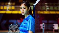 Tunggal putri Myanmar, Thet Htar Thuzar, mendapatkan dukungan dari netizen Indonesia setelah kalah telak dari Gregoria Mariska Tunjuk pada pertandingan Olimpiade 2020. (Instagram/@_thethtarthuzar_)