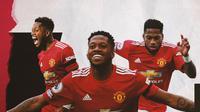 Pemain Manchester United: Fred. (Bola.com/Dody Iryawan)