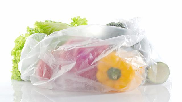 Ilustrasi Kantong Plastik