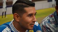 Esteban Vizcarra akan memboyong keluarga ke Bandung. (Huyogo Simbolon)