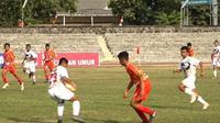 Pertandingan antara Daerah Istimewa Yogyakarta melawan Jawa Tengah di Liga Pelajar U-14 (dok: Kemenpora)