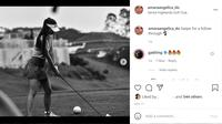 Amara Angelica digosipkan dekat dengan Gading Marten. (Instagram/@amaraangelica_do)