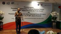 Menteri Perhubungan Budi Karya Sumandi di Kantor Kementerian BUMN, Jakarta, Jumat (10/1/2020).
