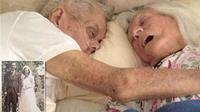 Momen yang sangat menyentuh ini merangkum seluruh kebersamaan mereka selama lebih dari 85 tahun.