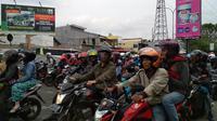 Mudik di Cirebon (Liputan6.com/ Panji Prayitno)