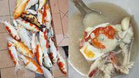 Viral Aksi Wanita Masak Sup Ikan Koi. Sumber: Facebook/Amanda Omeychua.