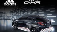 Desain Toyota C-HR Kolaborasi Bareng Adidias (Paultan)