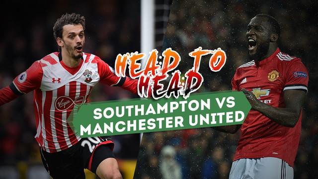 Berita video duel antar lini Southampton vs Manchester United, Sabtu (23/9/2017) di St. Mary's Stadium.