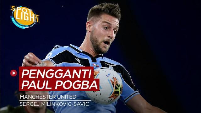 Berita video spotlight kali ini membahas calon pengganti Paul Pogba jika dirinya jadi hengkang dari Manchester United.