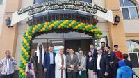 Dubes RI di Kyiv, Prof. Dr. Yuddy Chrisnandi bersama istri, Ny. Velly Elvira mengunjungi masjid Ar-Raid untuk bersilaturahmi kepada Mufti Ar-Raid, Syekh Said Ismagilov dan para pengurus masjid Ar-Raid. (Photo credit: KBRI Kyiv)