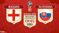Kualifikasi Piala Dunia 2018 Inggris Vs Slovakia (Bola.com/Adreanus Titus)