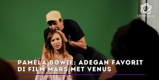 Pamela Bowie dan Ge Pamungkas punya scene favorit  di film Mars Met Venus.