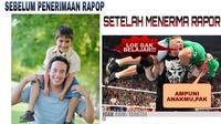 Deretan Meme Kocak Saat Hasil Rapor Anak Jelek, Siap-Siap Ketawa Geli