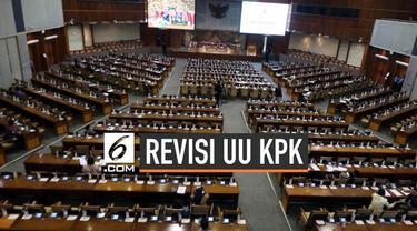 DPR dan Pemerintah sepakat soal poin-poin revisi UU KPK. Jika memungkinkan revisi UU KPK akan disahkan hari ini di sidang paripurna DPR RI.