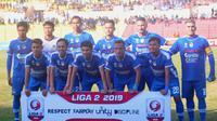 PSIM saat menghadapi Persik di Stadion Sultan Agung, Bantul (1/7/2019). (Bola.com/Vincentius Atmaja)
