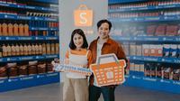 Gya Sadiqah dan Tarra Budiman, Shopee 7.7 Pesta Diskon Supermarket   Shopee Indonesia