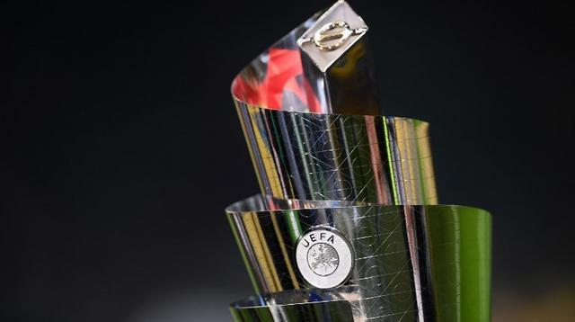 Trofi UEFA Nations League. (AFP/Marco Bertorello)
