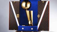 Mengintip mewahnya koper ekslusif Louis Vuitton untuk piala NBA (Foto: Louis Vuitton)