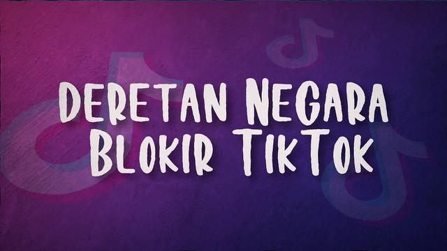 Aplikasi Tiktok yang saat ini sering dipakai oleh masyarakat di dunia. Ternyata beberapa negara justru menghapus aplikasi ini.