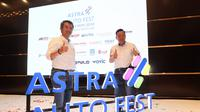 Grup Astra berencana menggelar pameran otomotif terbesar, bertajuk Astra Auto Fest 2019. Liputan6.com/Bawono Yadika