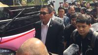 Pansus Angket KPK ketika tiba di Lapas Sukamiskin, Bandung. (Liputan6.com/Taufiqurrohman)